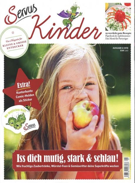 Servus Kinder Österreich im Abo - aktuelles Zeitschriftencover