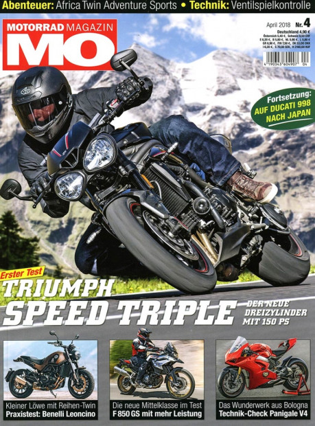 Motorradmagazin im Abo - aktuelles Zeitschriftencover