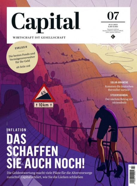 Capital im Abo - aktuelles Zeitschriftencover