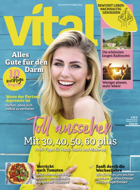 vital im Abo - aktuelles Zeitschriftencover