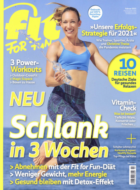 fit FOR FUN im Abo - aktuelles Zeitschriftencover