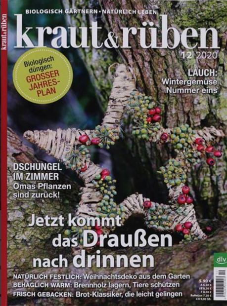 kraut & rüben im Abo - aktuelles Zeitschriftencover
