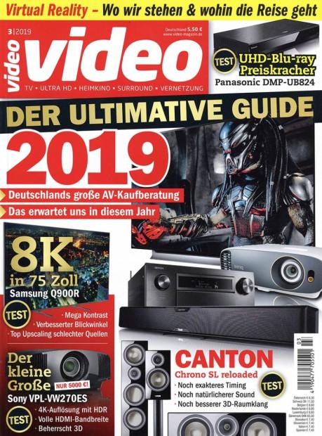 Video im Abo - aktuelles Zeitschriftencover