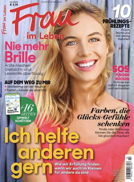 Frau im Leben im Abo - aktuelles Zeitschriftencover