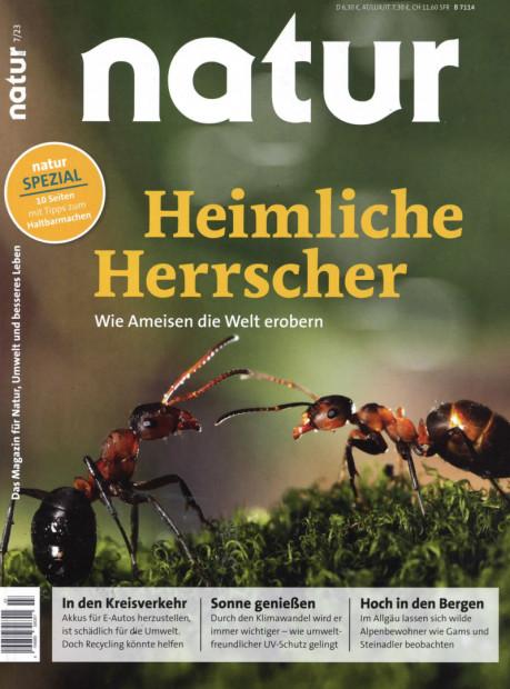 natur im Abo - aktuelles Zeitschriftencover
