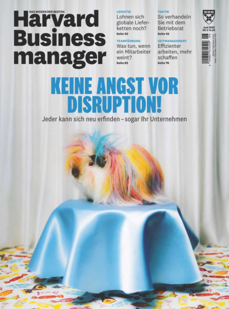 Harvard Business Manager im Abo - aktuelles Zeitschriftencover