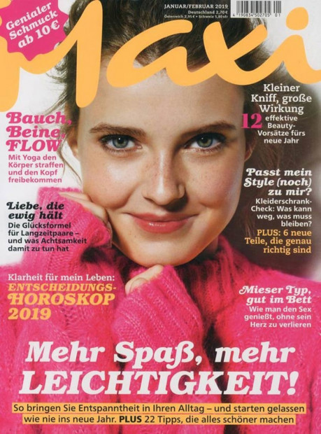 Maxi im Abo - aktuelles Zeitschriftencover