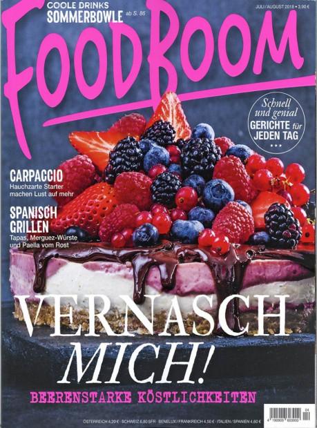 FOODBOOM im Abo - aktuelles Zeitschriftencover