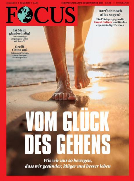 FOCUS im Abo - aktuelles Zeitschriftencover