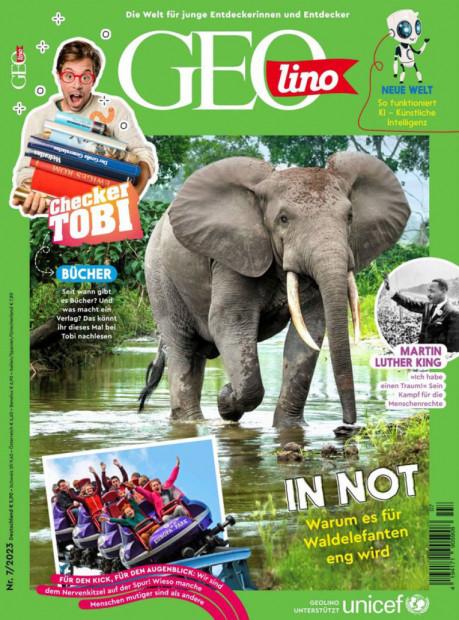 GEOlino im Abo - aktuelles Zeitschriftencover
