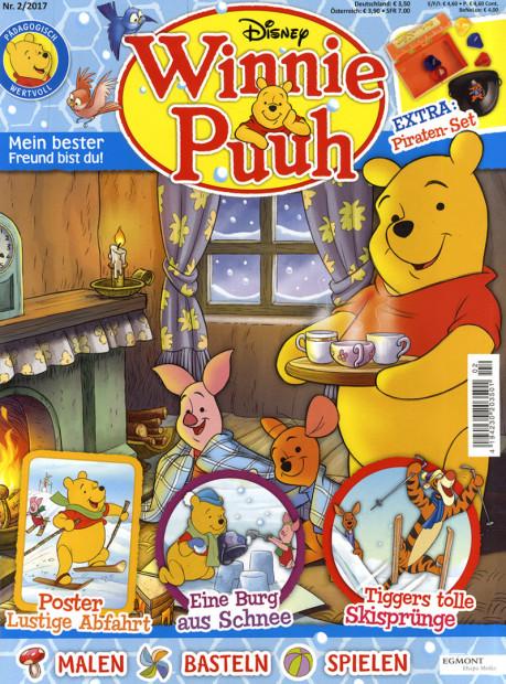 Winnie Puuh im Abo - aktuelles Zeitschriftencover