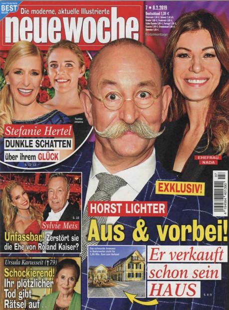 neue woche im Abo - aktuelles Zeitschriftencover