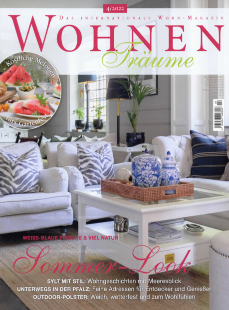 WOHNENTräume im Abo - aktuelles Zeitschriftencover