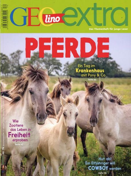 GEOlino Extra im Abo - aktuelles Zeitschriftencover
