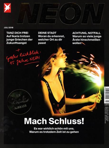 NEON im Abo - aktuelles Zeitschriftencover