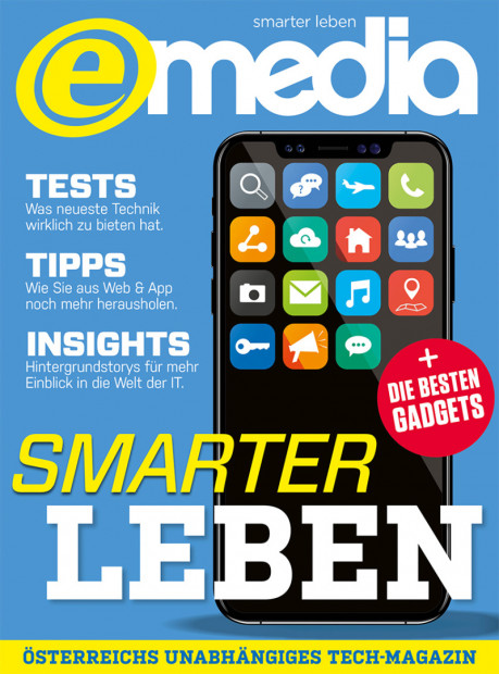 E-MEDIA im Abo - aktuelles Zeitschriftencover