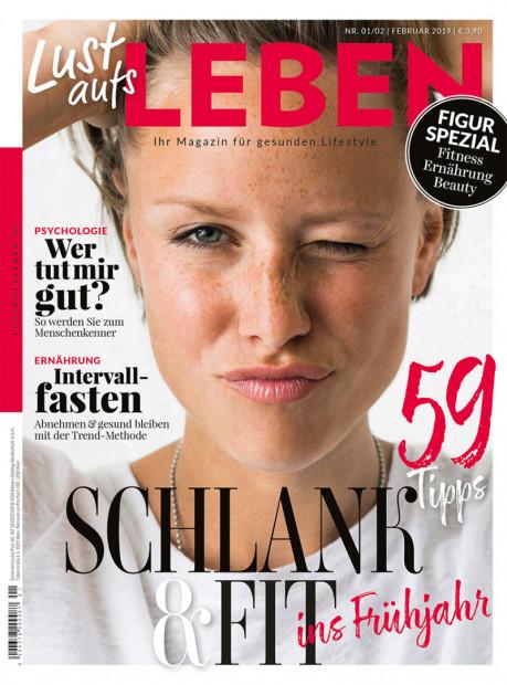 Lust aufs LEBEN im Abo - aktuelles Zeitschriftencover