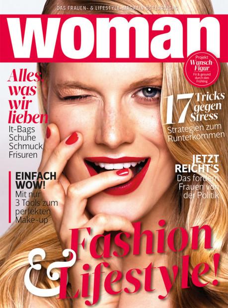 WOMAN im Abo - aktuelles Zeitschriftencover