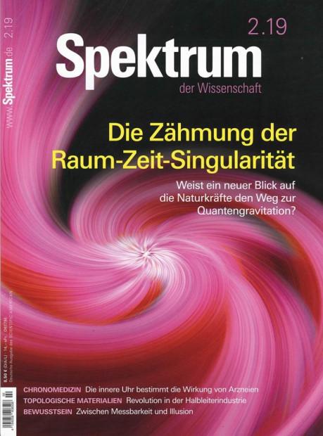 Spektrum DER WISSENSCHAFT im Abo - aktuelles Zeitschriftencover